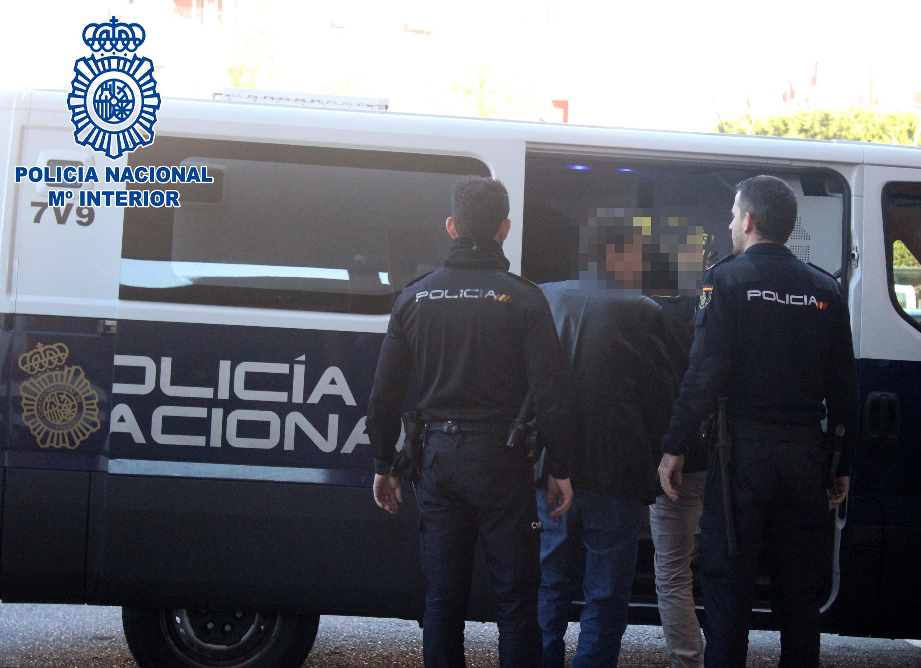 Detenido en Granada un homicida reclamado por la Interpol