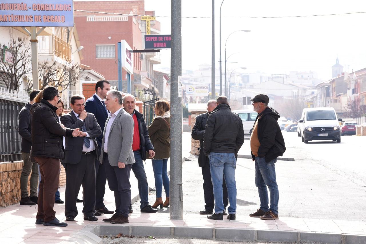 Diputación invierte 140.000 euros en obras del ciclo integral del agua en Charches en el Valle del Zalabí