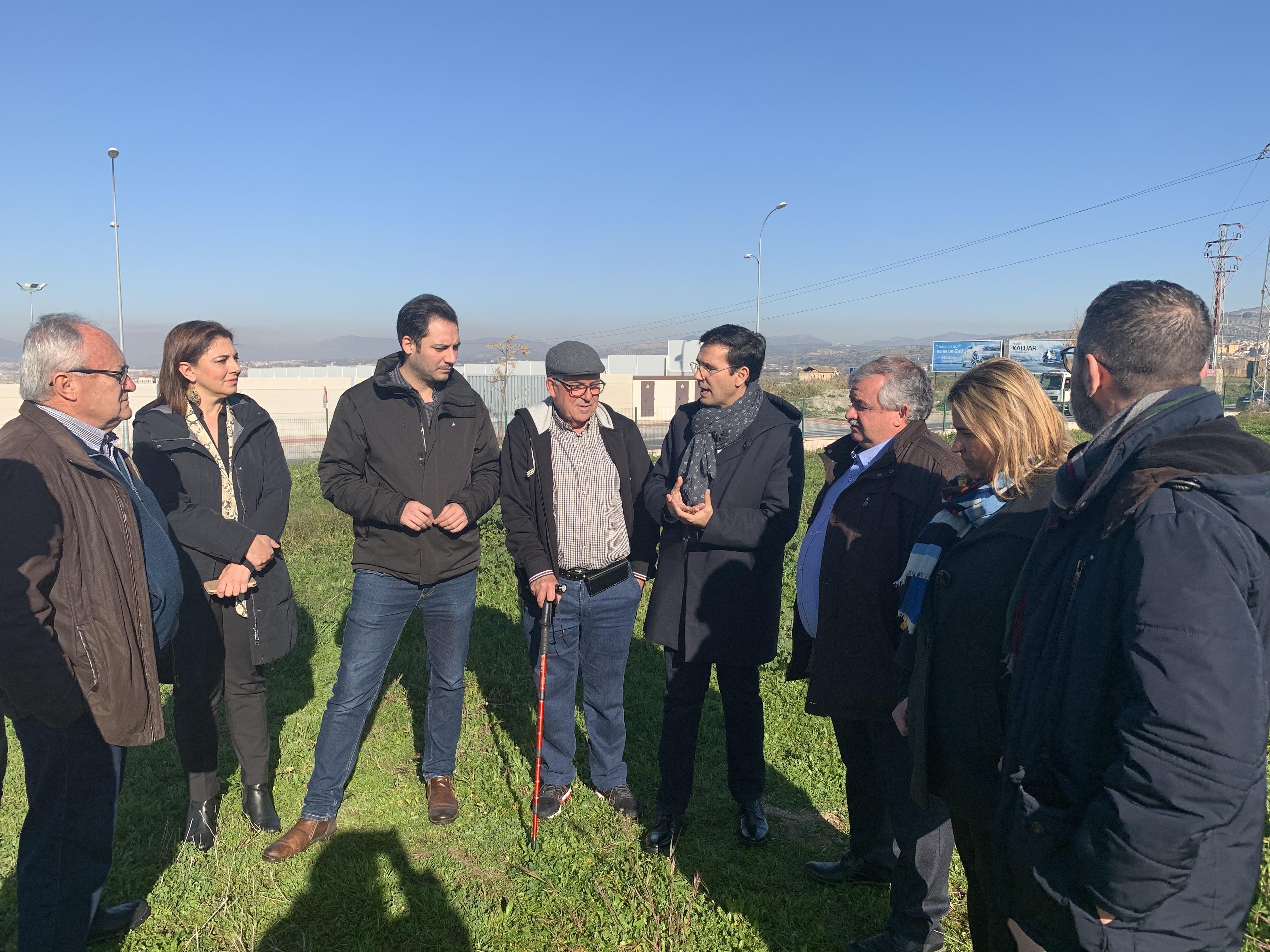 El PSOE exige la construcción de un nuevo espacio verde en Parque Nueva Granada