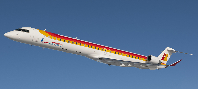 Air Nostrum adelanta al 15 de marzo el inicio de la ruta Granada-Valencia