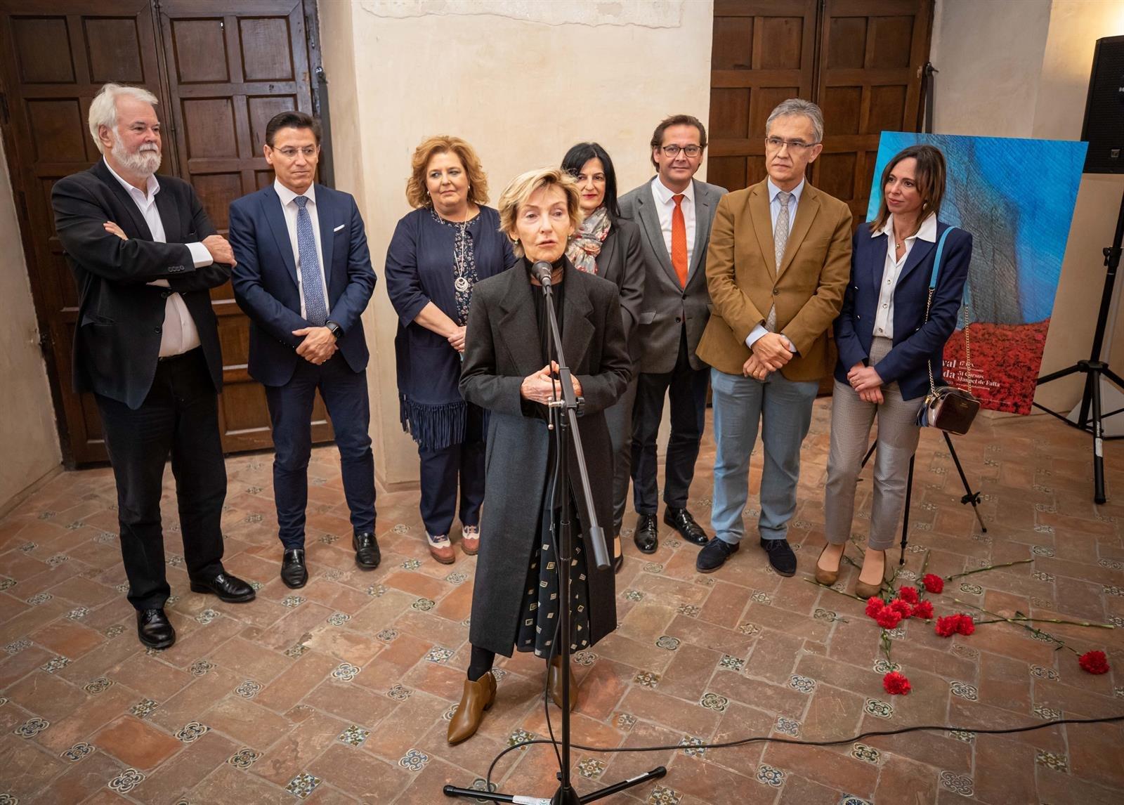 Presentado el cartel de la 69 edición del Festival de Música y Danza obra de Soledad Sevilla