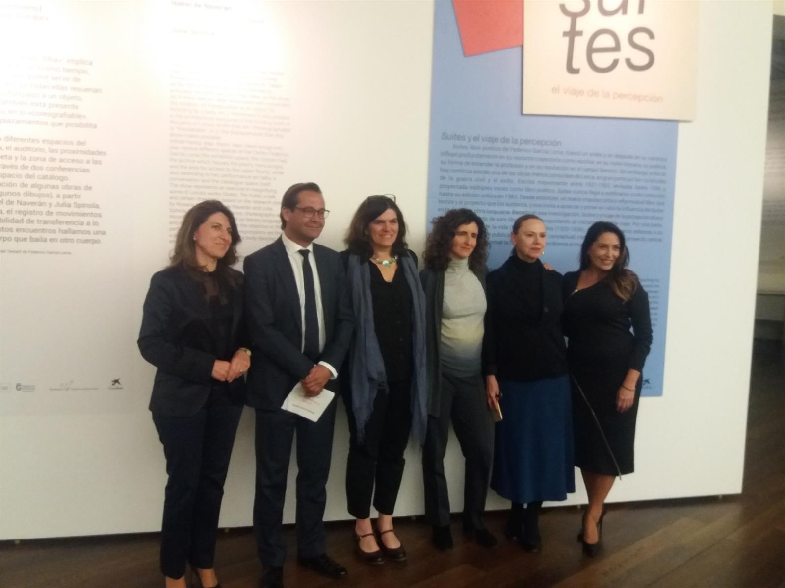 La fundación que gestionará el legado de Lorca se constituirá en breve, según el Delegado de Cultura