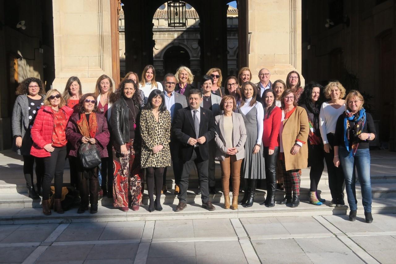 Reunión de las Diputaciones andaluzas para coordinar los actos del Día Internacional de la Mujer