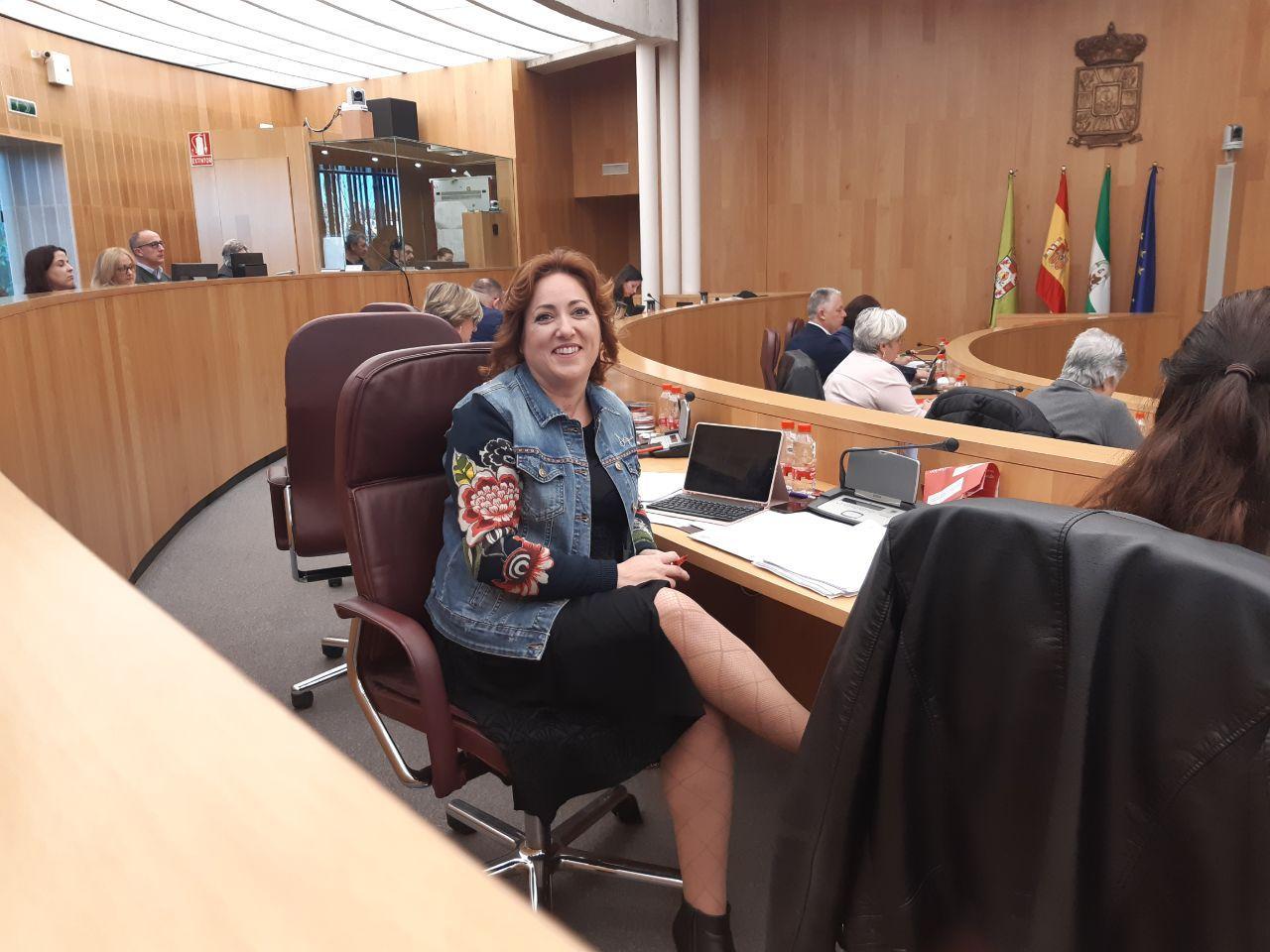 IU rescata la supresión de líneas de autobuses en pueblos pequeños de la provincia en la agenda de Diputación