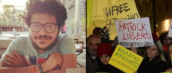 Clamor universitario para pedir a Egipto la liberación del joven investigador Patrick Zaki