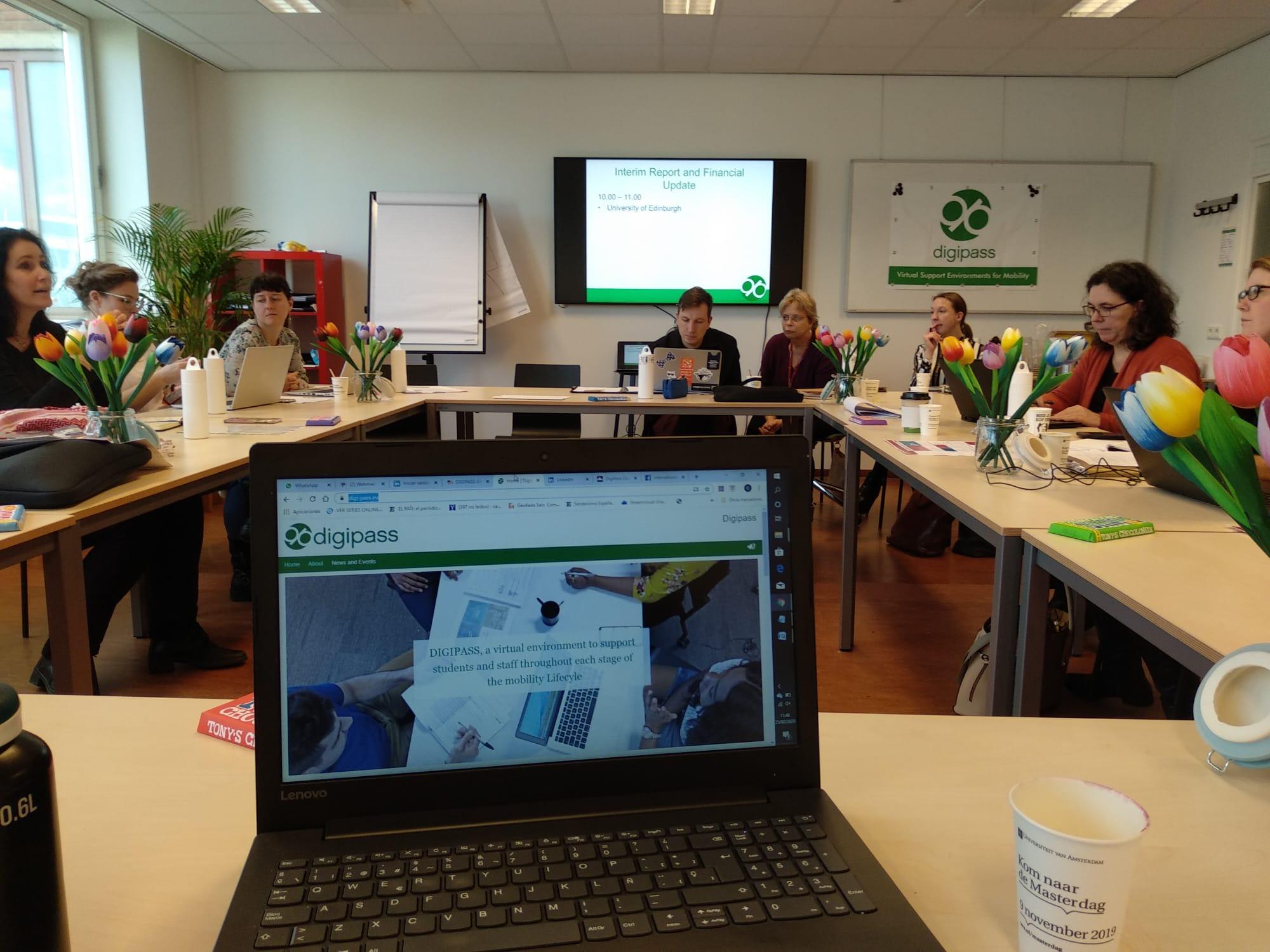 La UGR participa en la reunión transnacional en Ámsterdam del Proyecto Erasmus+ DIGIPASS