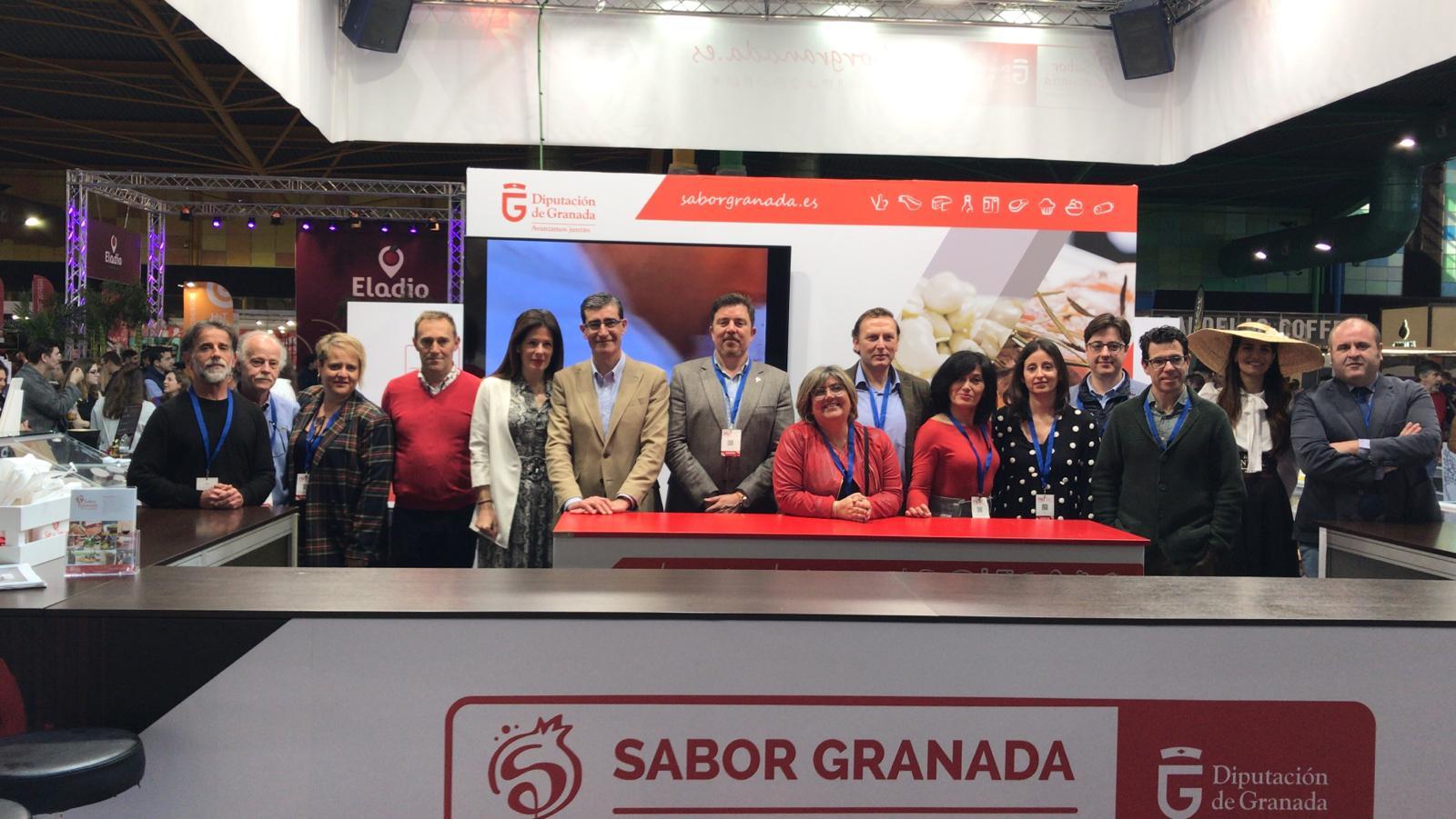 Sabor Granada refuerza su presencia en la Feria de Hostelería de Málaga
