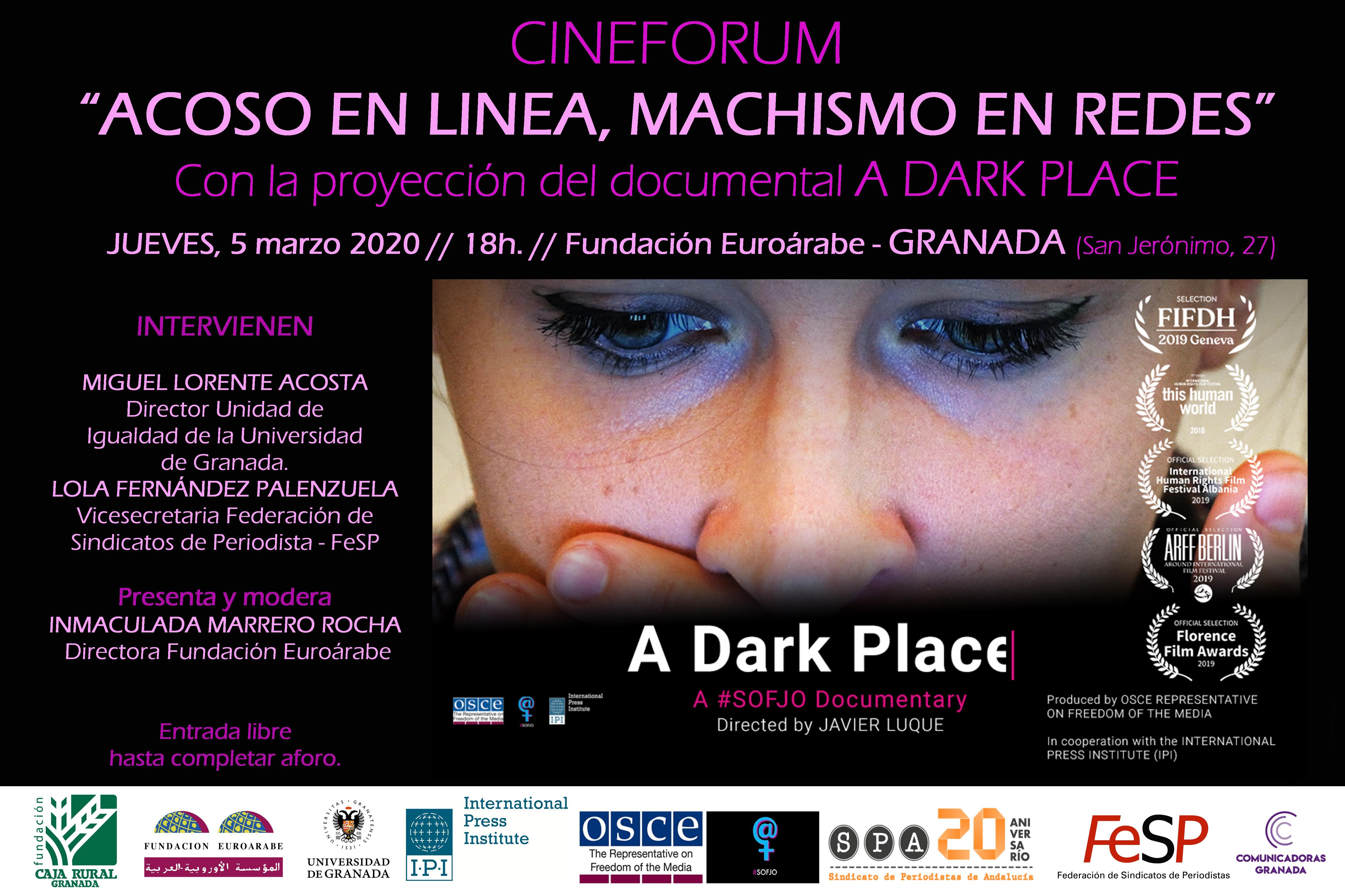 El SPA proyecta en Granada un documental sobre ciberacoso a mujeres periodistas