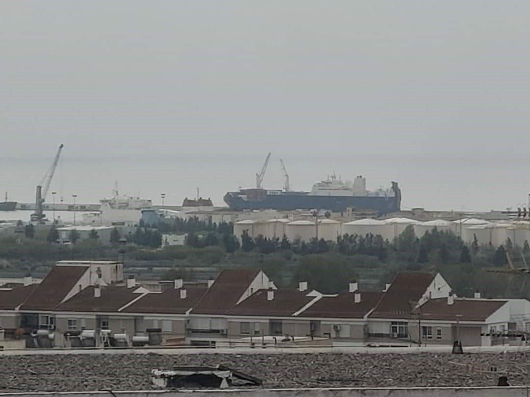 Un buque saudí cargado de armas vuelve al Puerto de Motril según Adelante Andalucía
