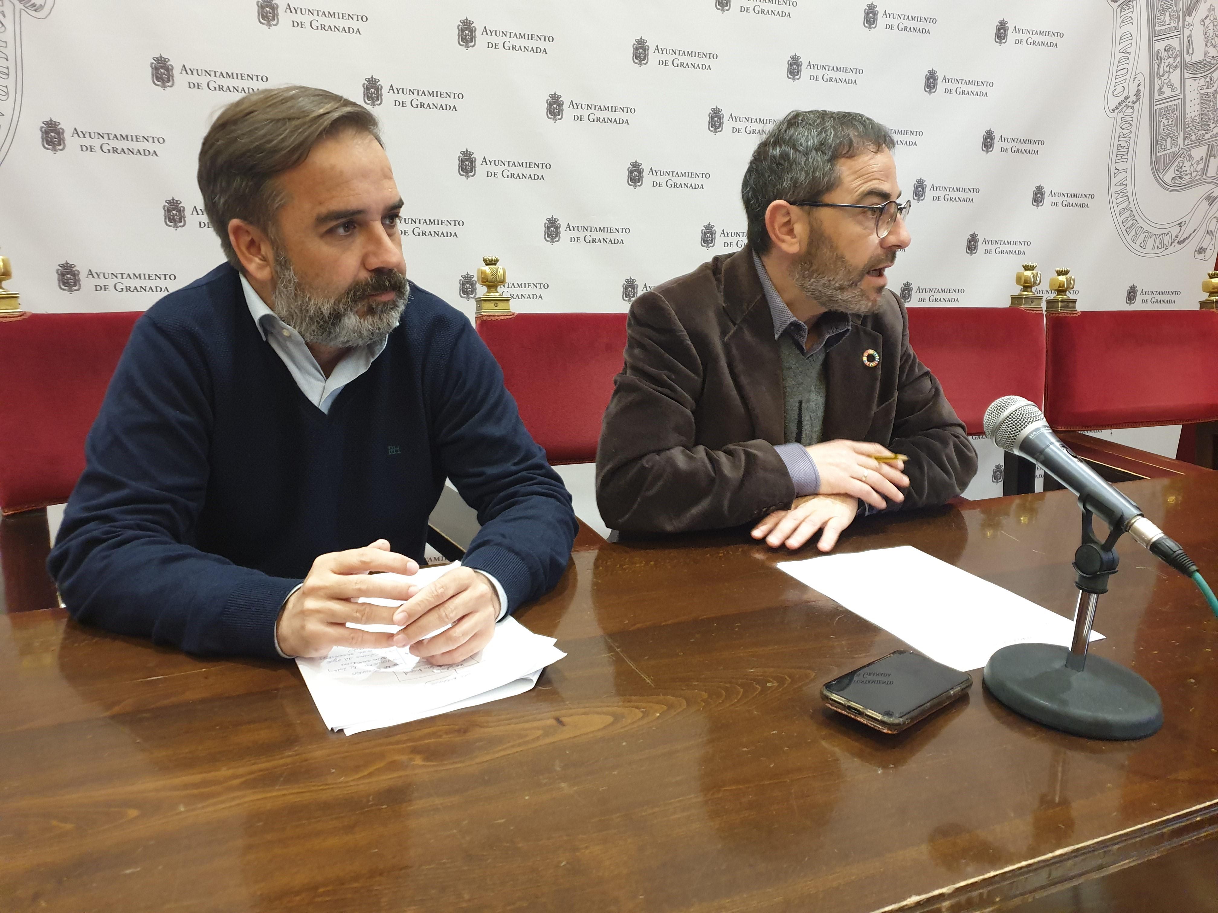 El PSOE critica el «abandono absoluto» del gobierno de Luis Salvador hacia el Albaicín