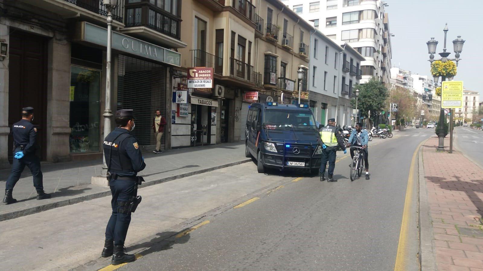 Más de 600 denuncias de Policía Nacional y Guardia Civil en estado de alarma