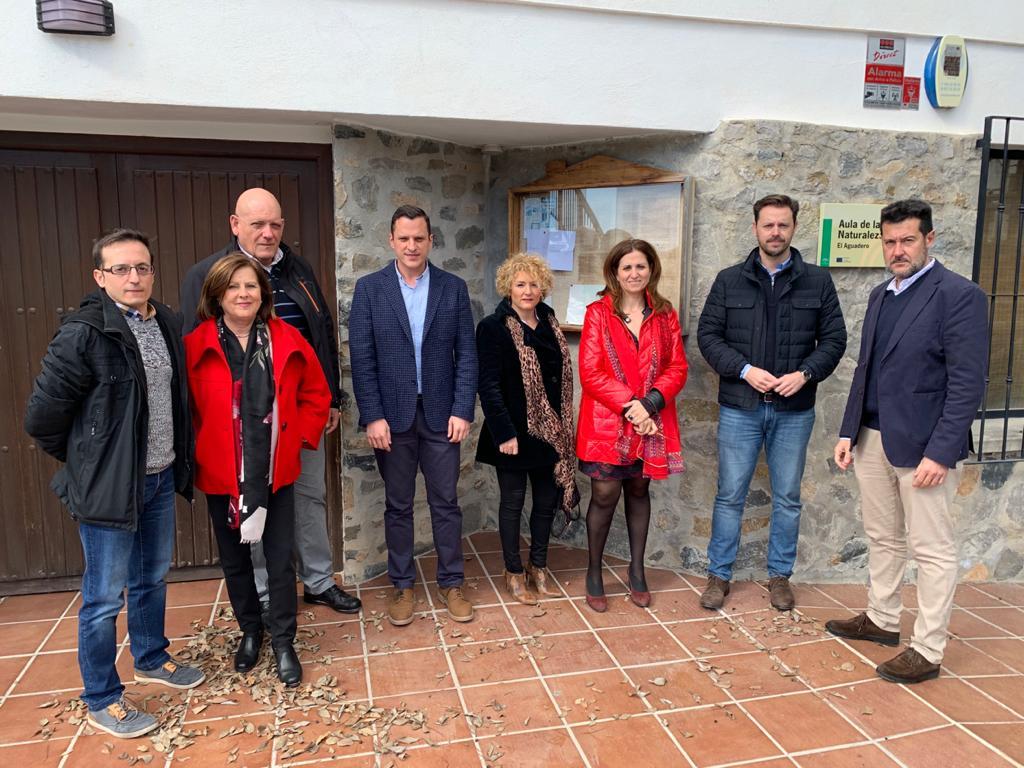 El PSOE reclama a la Junta la reapertura del aula de la naturaleza de El Aguadero de Padul