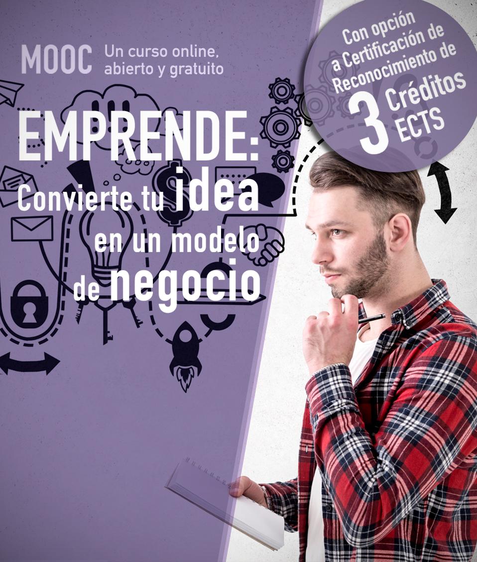 """Ampliado el plazo de realización para el MOOC """"Emprende: Convierte tu idea en un modelo de negocio"""""""