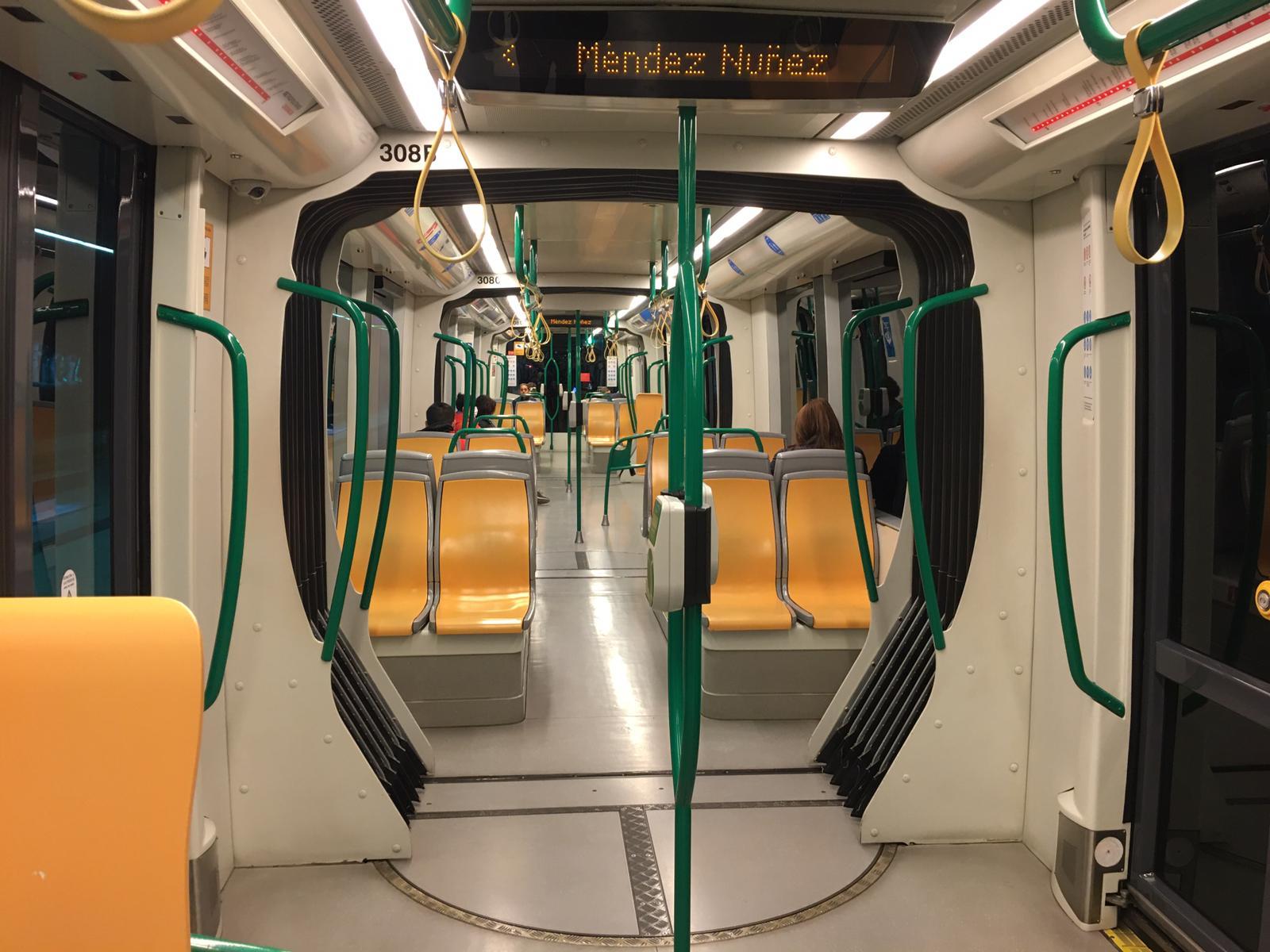 Un 90% menos de ocupación en el Metro desde el inicio del estado de alarma