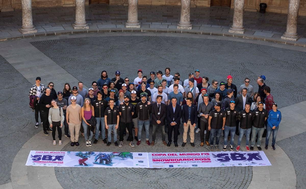 La Copa del Mundo SBX se presenta en la Alhambra como la gran competición de invierno en España