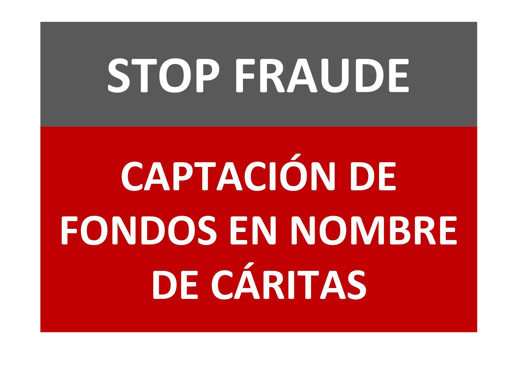 Cáritas denuncia una falsa campaña de captación de fondos para el coronavirus usando su nombre