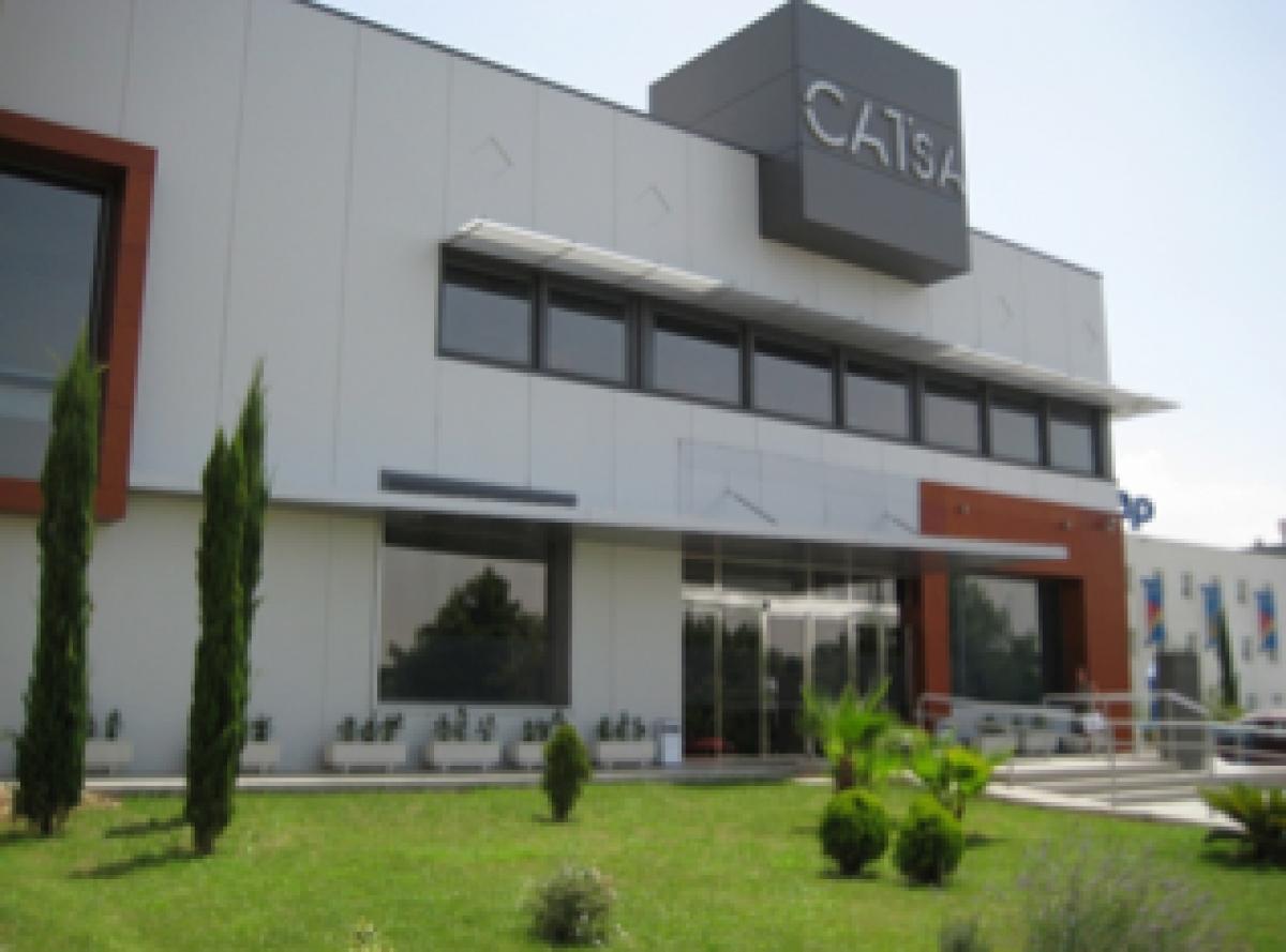 La policía precinta la empresa Catsa por no contar con medidas de protección suficientes para los trabajadores