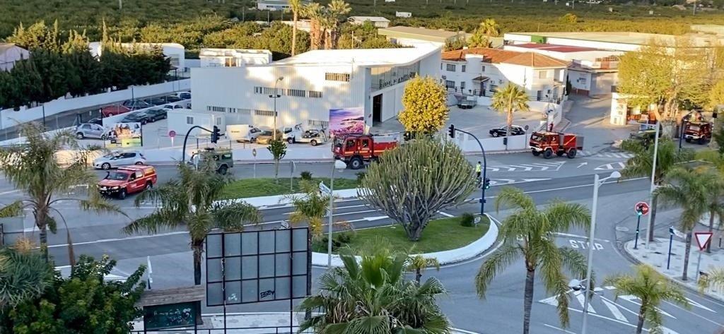 La UME continúa desinfectando puntos sensibles en Motril y Almuñécar