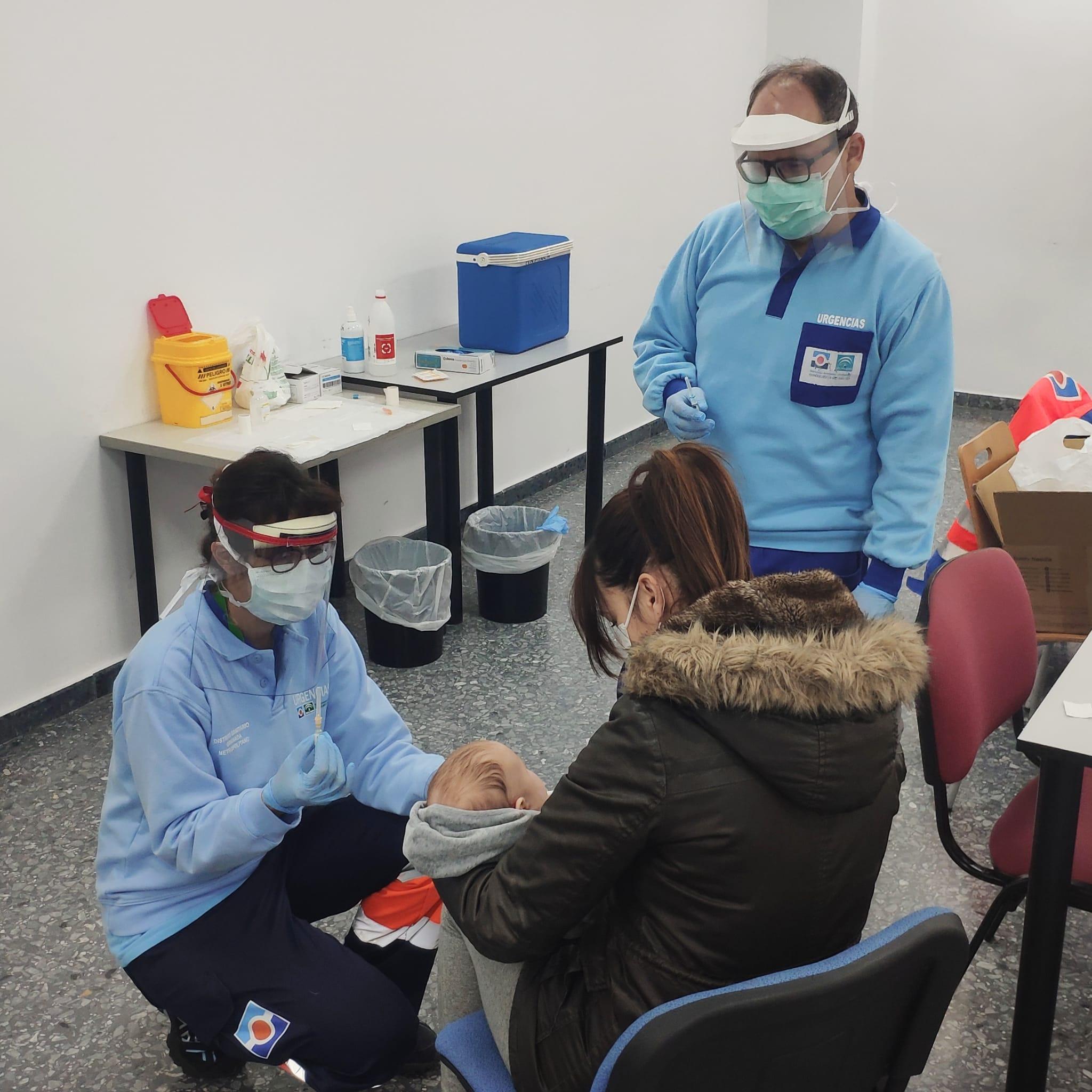 Armilla cede una sala externa al centro de salud para poder continuar la vacunación infantil