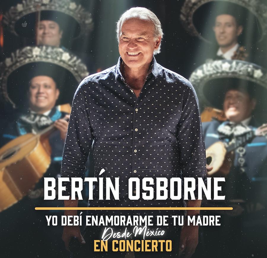 Bertín Osborne presentará en mayo su nuevo disco en Granada