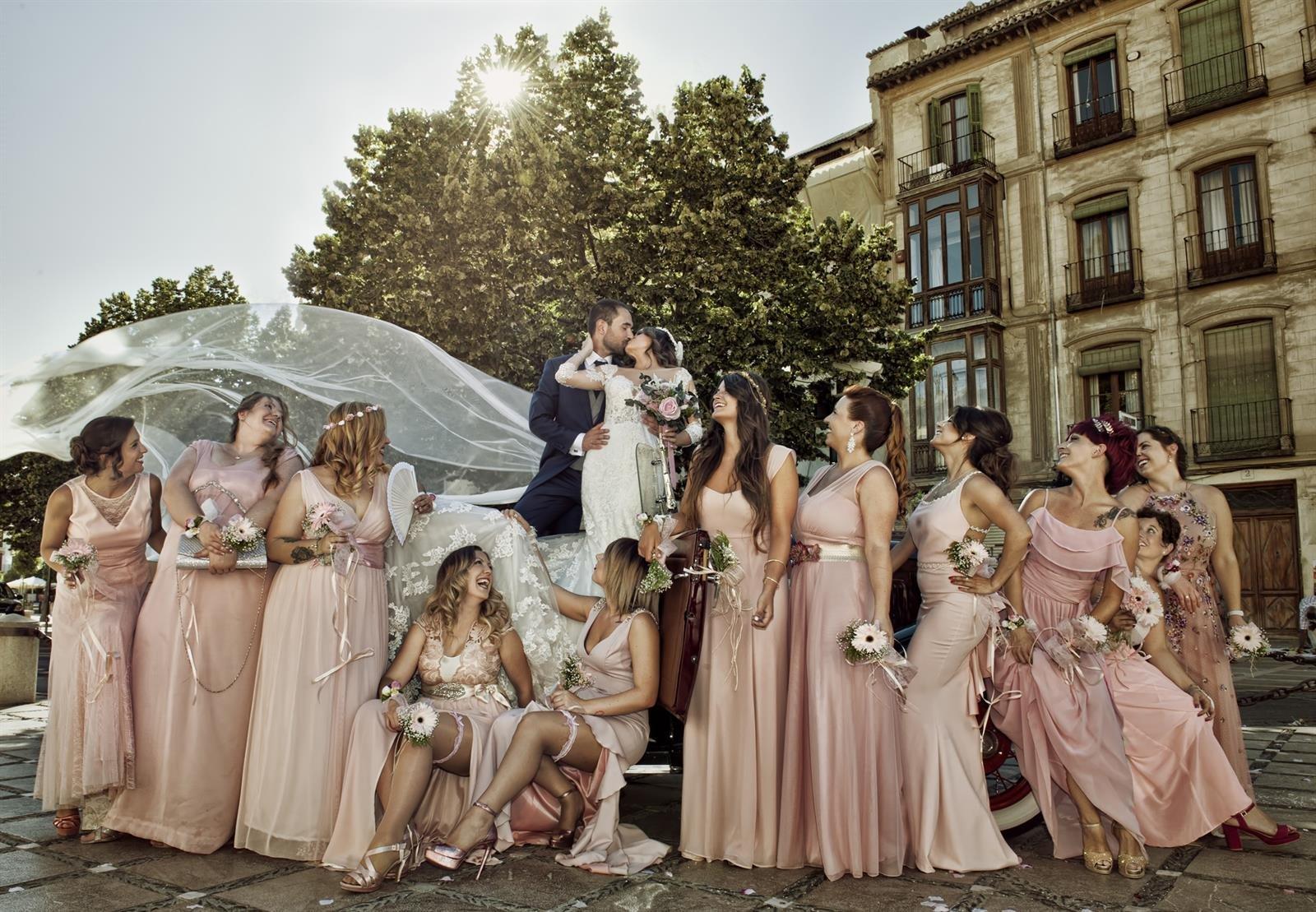 Un fotógrafo granadino aspira a proclamarse como el mejor de Europa en retratos de bodas