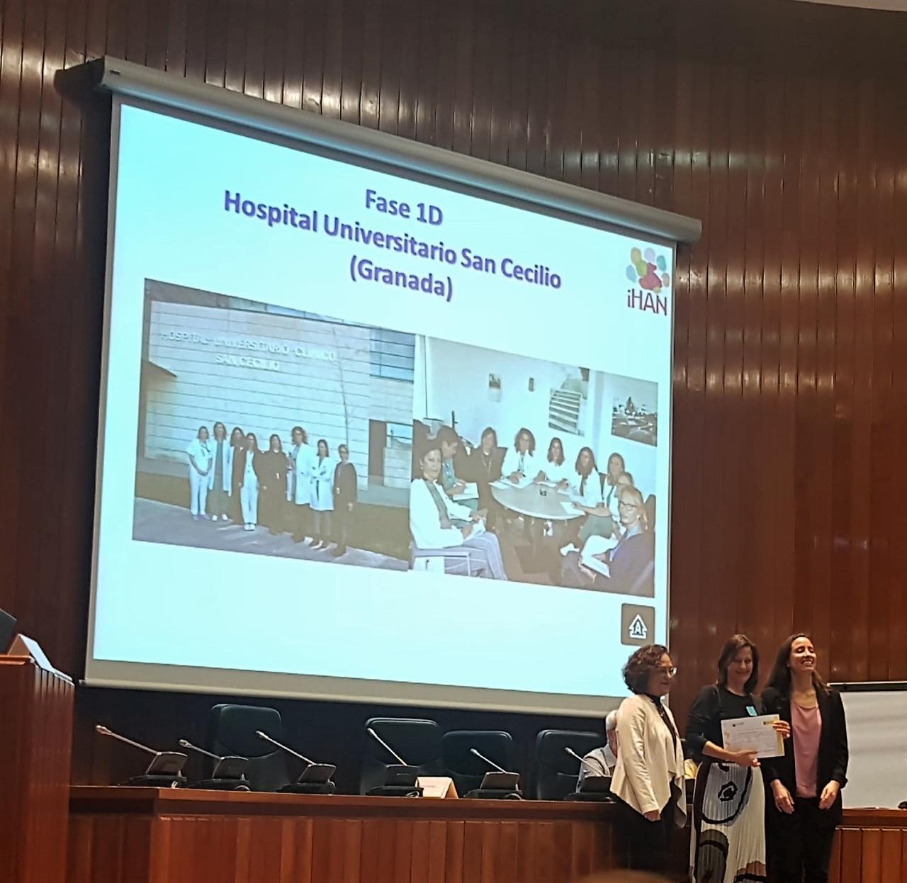 El Hospital San Cecilio culmina la primera fase de acreditación como centro que promueve la humanización en el parto y la lactancia