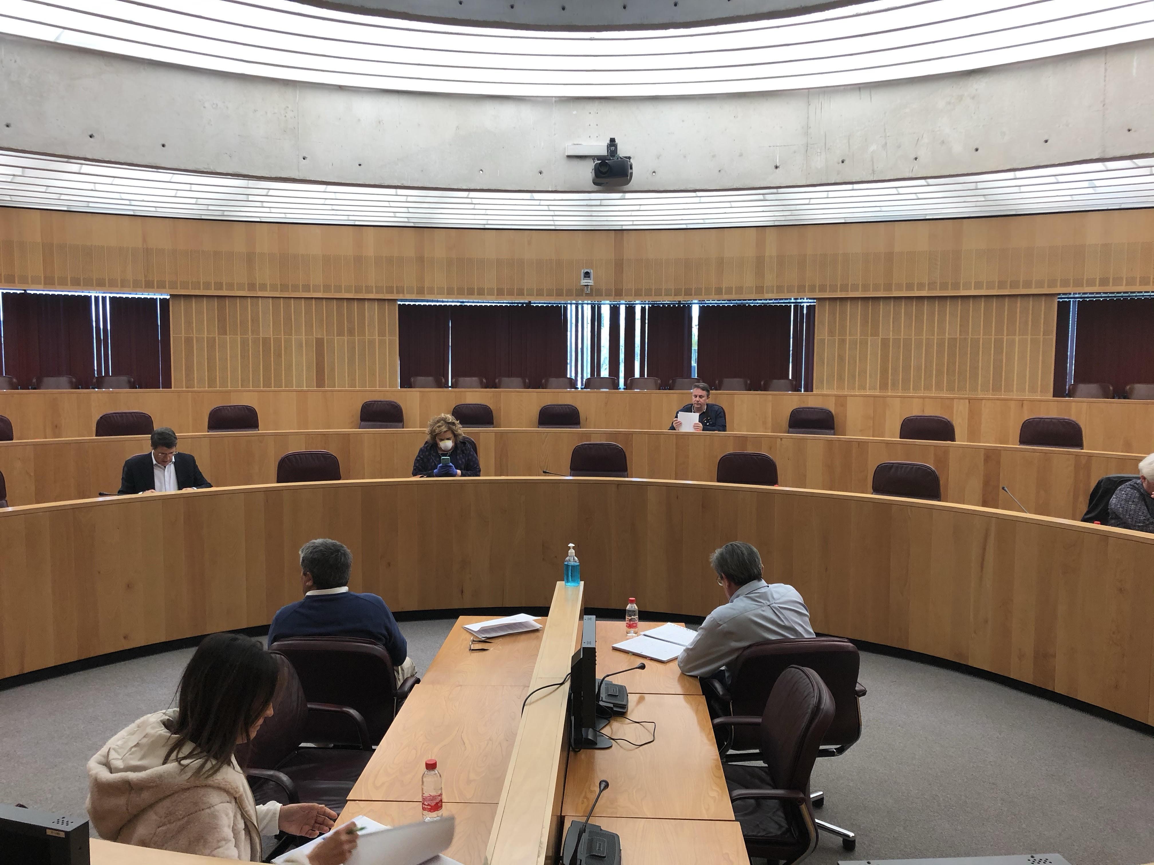 La Diputación toma medidas para garantizar sus servicios básicos en la provincia