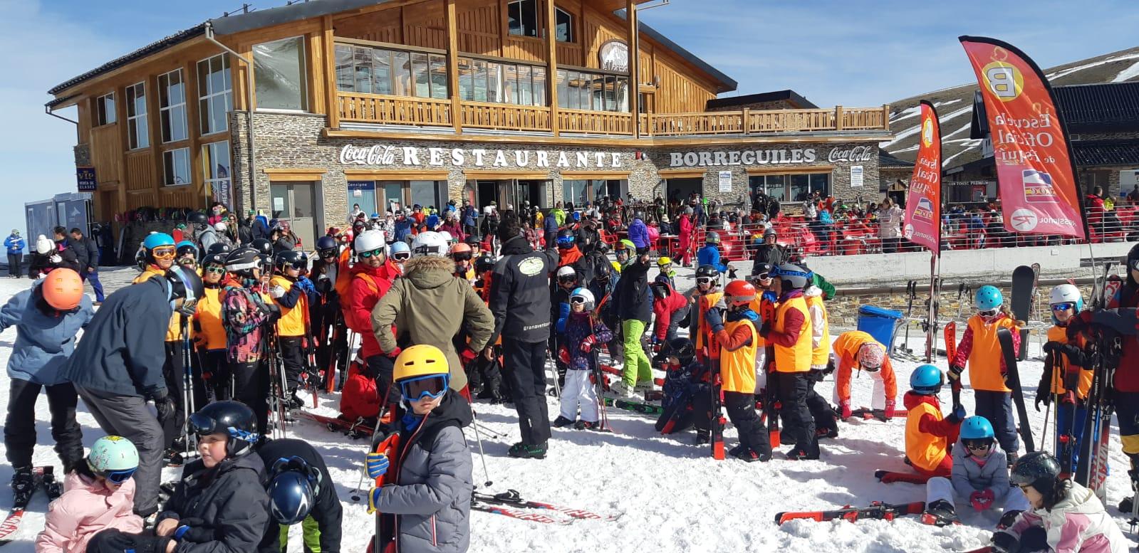 Los vecinos de Cájar volverán a esquiar en Sierra Nevada