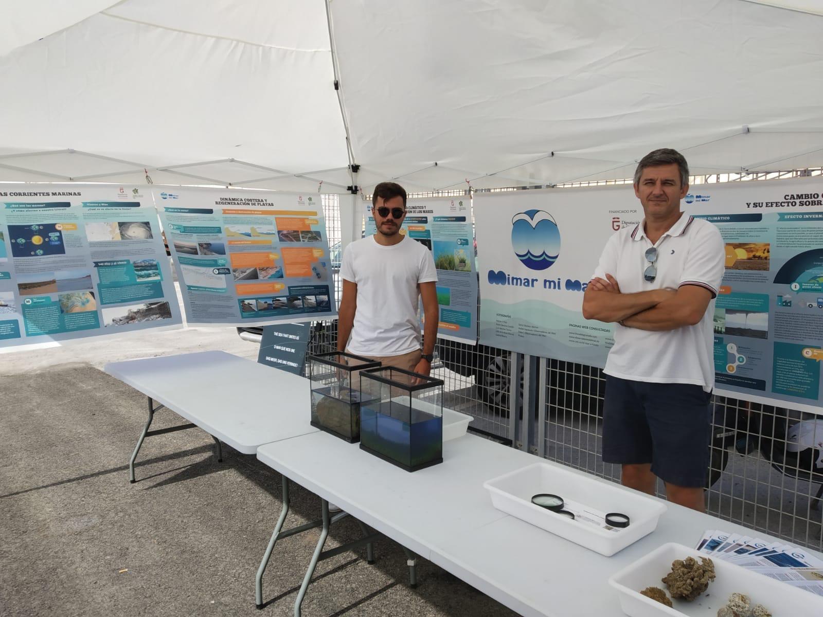 Un Laboratorio de Riesgos Marinos se unirá al Aula del Mar de la UGR en el estudio de la costa de Granada