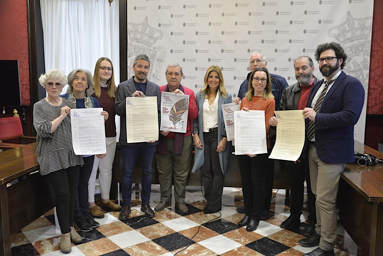 El Ayuntamiento presenta los actos para conmemorar la designación de San de Dios como co-patrón de la ciudad