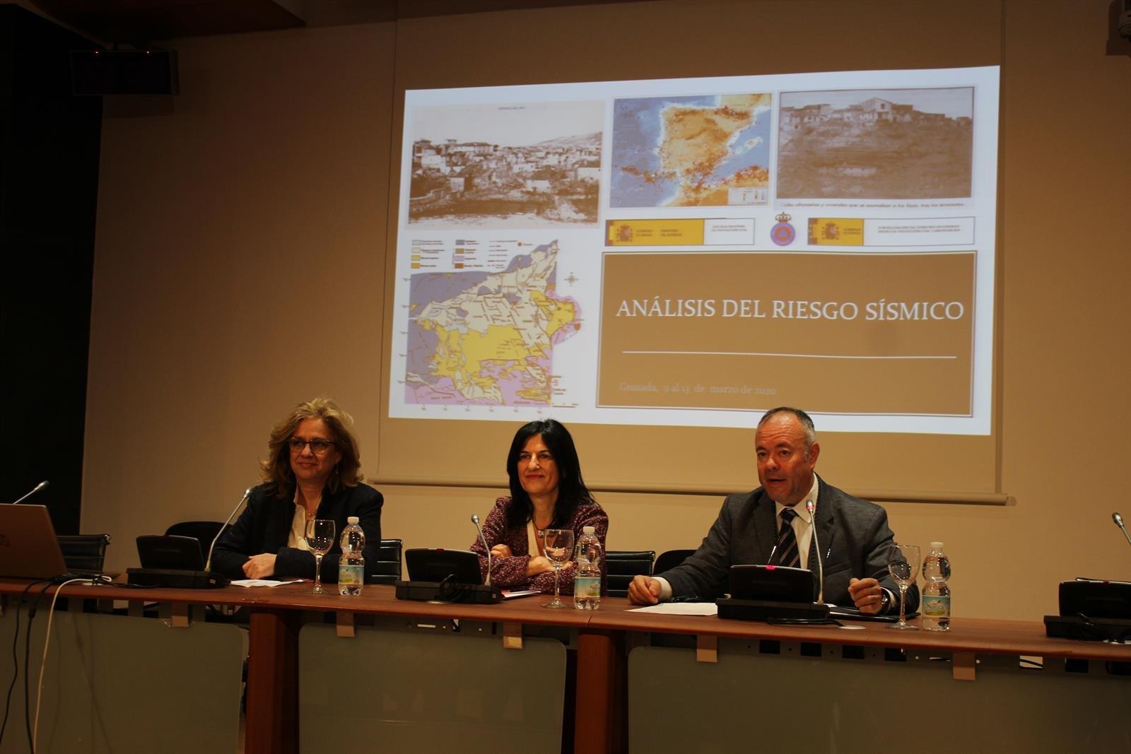 Granada reforzará su preparación para combatir el riesgo sísmico