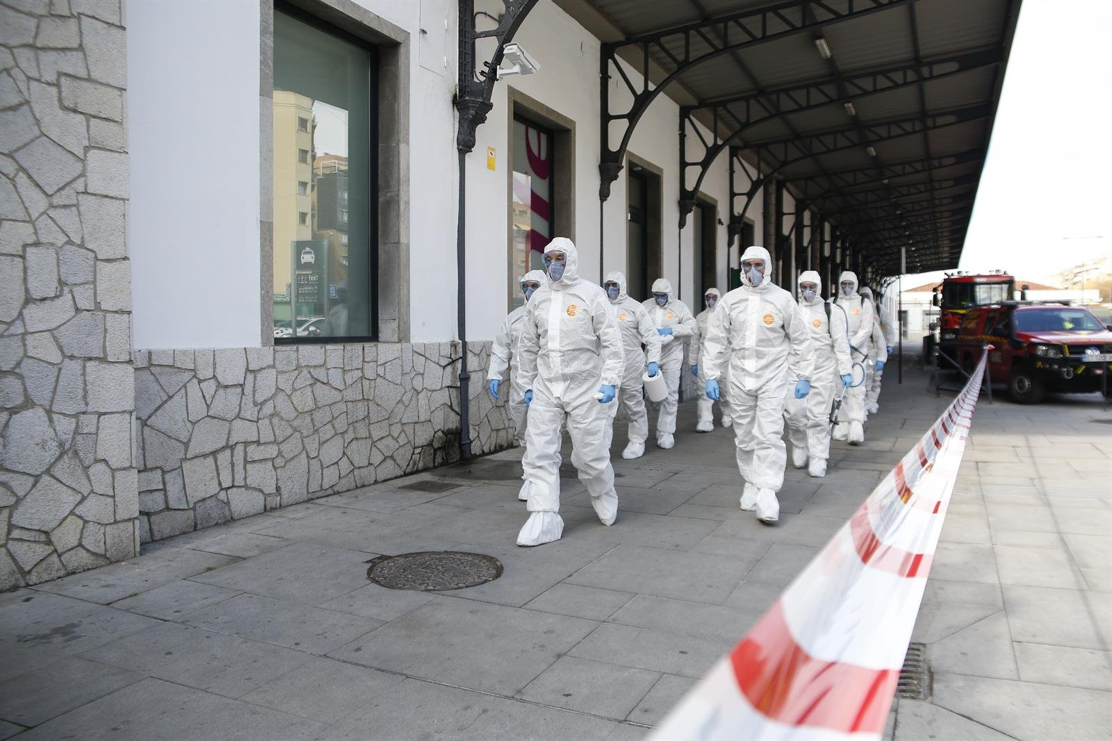 La UME desinfectará la residencia de mayores de la Zubia, principal foco de la pandemia en Granada