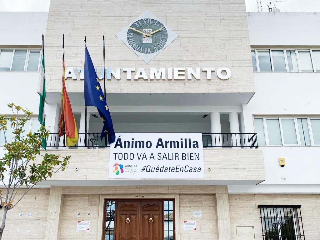 """La Junta paraliza una obra en Armilla por la """"indefinición del proyecto"""" y el consistorio pide la reposición del estado original en la Avenida de las Palmeras"""