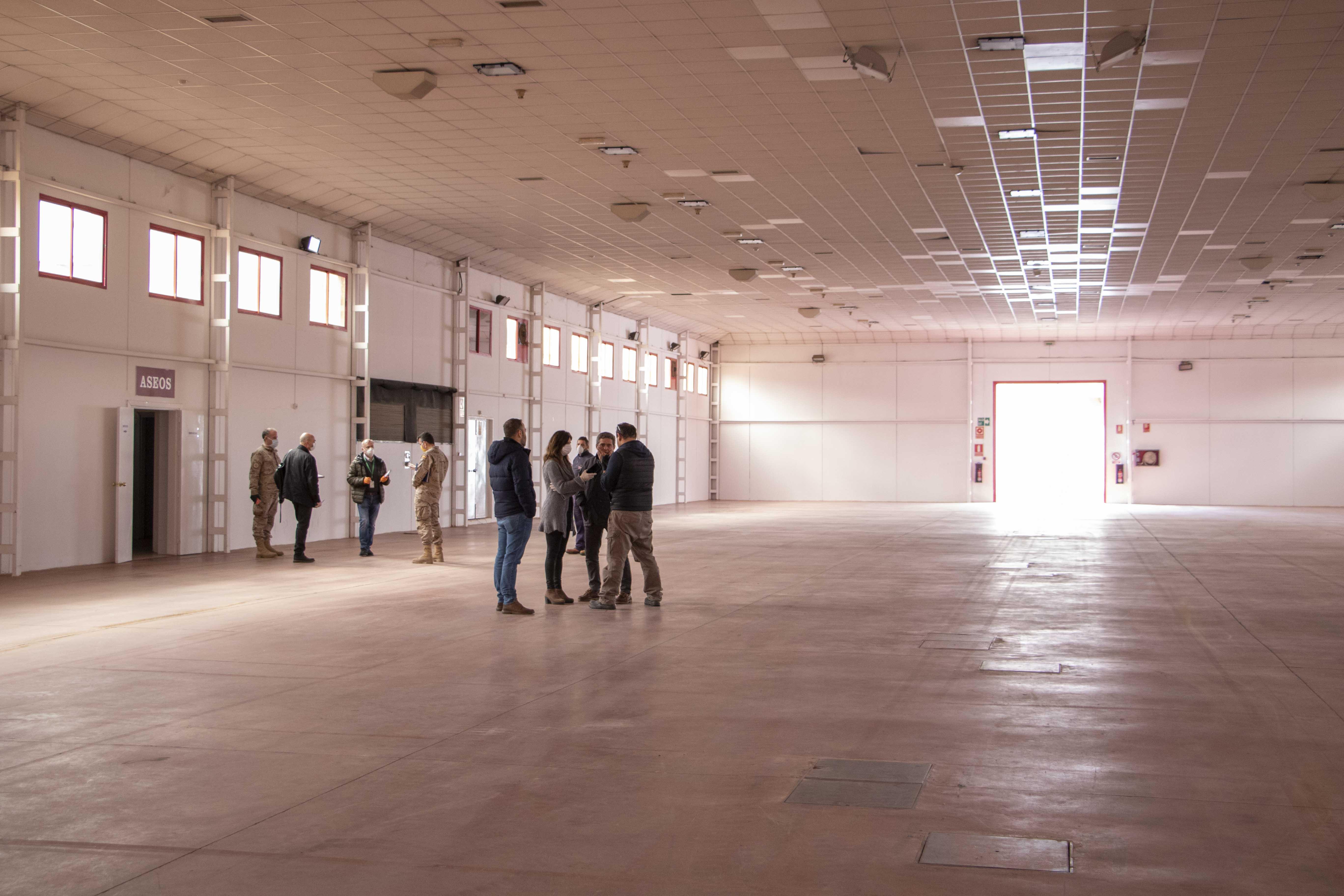 Fermasa acogerá un hospital de campaña en los próximos días