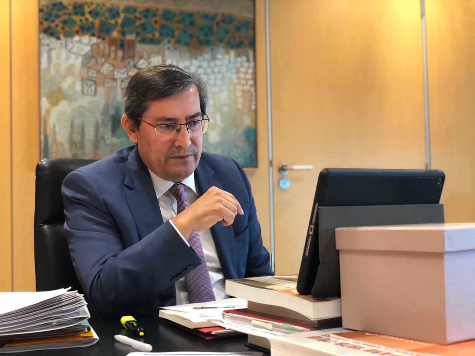 Entrena promueve un pacto provincial para reconstruir la provincia tras la crisis sanitaria