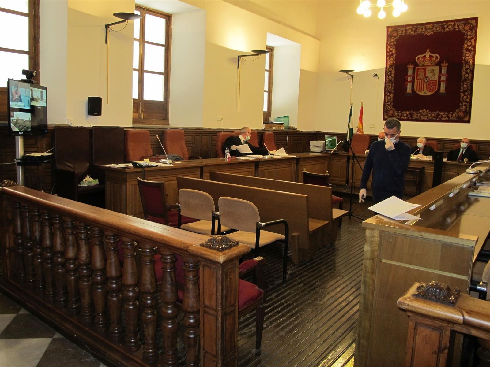 La Audiencia de Granada celebra su primer juicio por multivideoconferencia