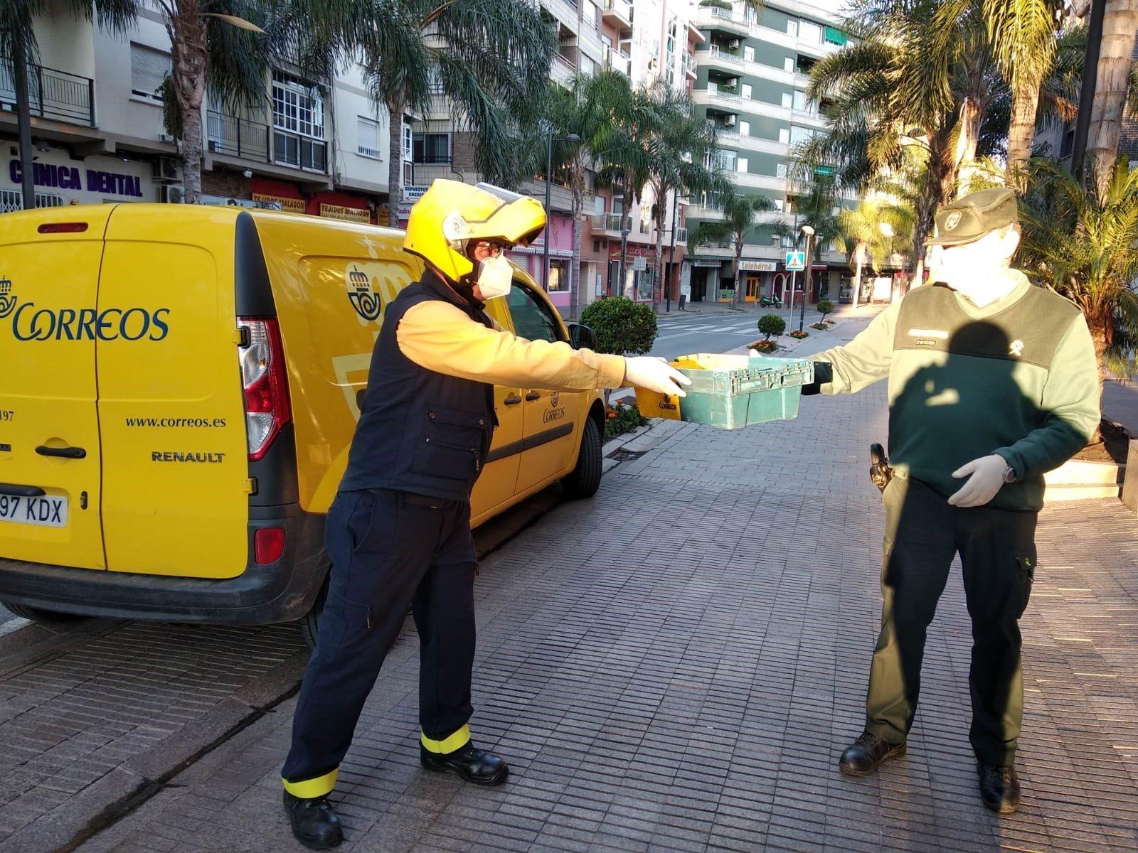 CCOO y UGT denuncian el desmantelamiento del servicio de Correos en Pulianas