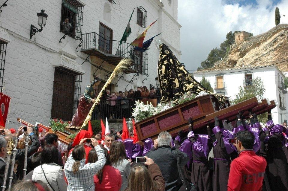 Montefrío celebra de forma virtual su Semana Santa