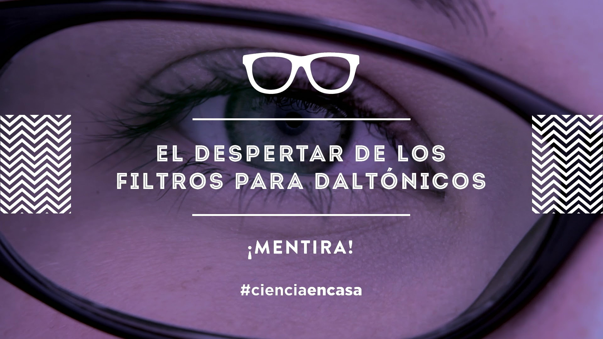 """#CienciaEnCasa: """"El despertar de los filtros para daltónicos: ¡mentira!"""", por Javier Hernández"""
