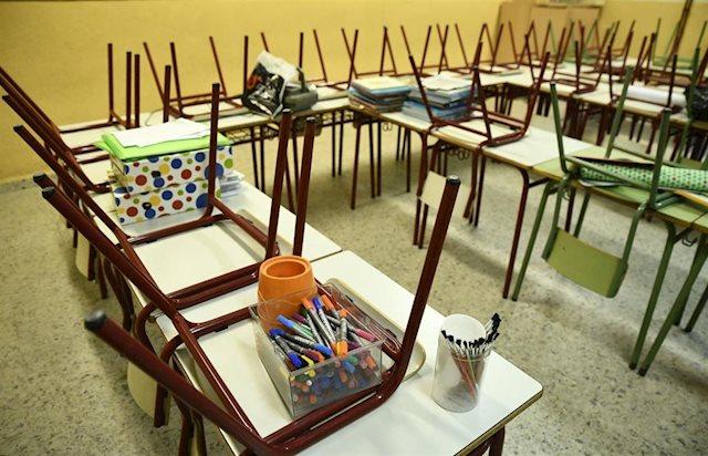 CSIF exige el cierre temporal de los colegios que están en los municipios con mayor incidencia de covid-19