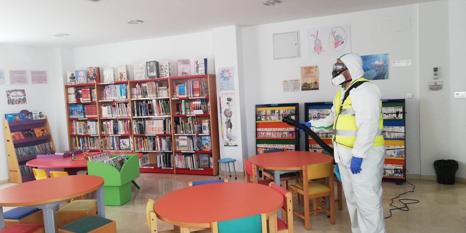Armilla prepara las instalaciones municipales para la vuelta paulatina a la actividad a partir del próximo lunes