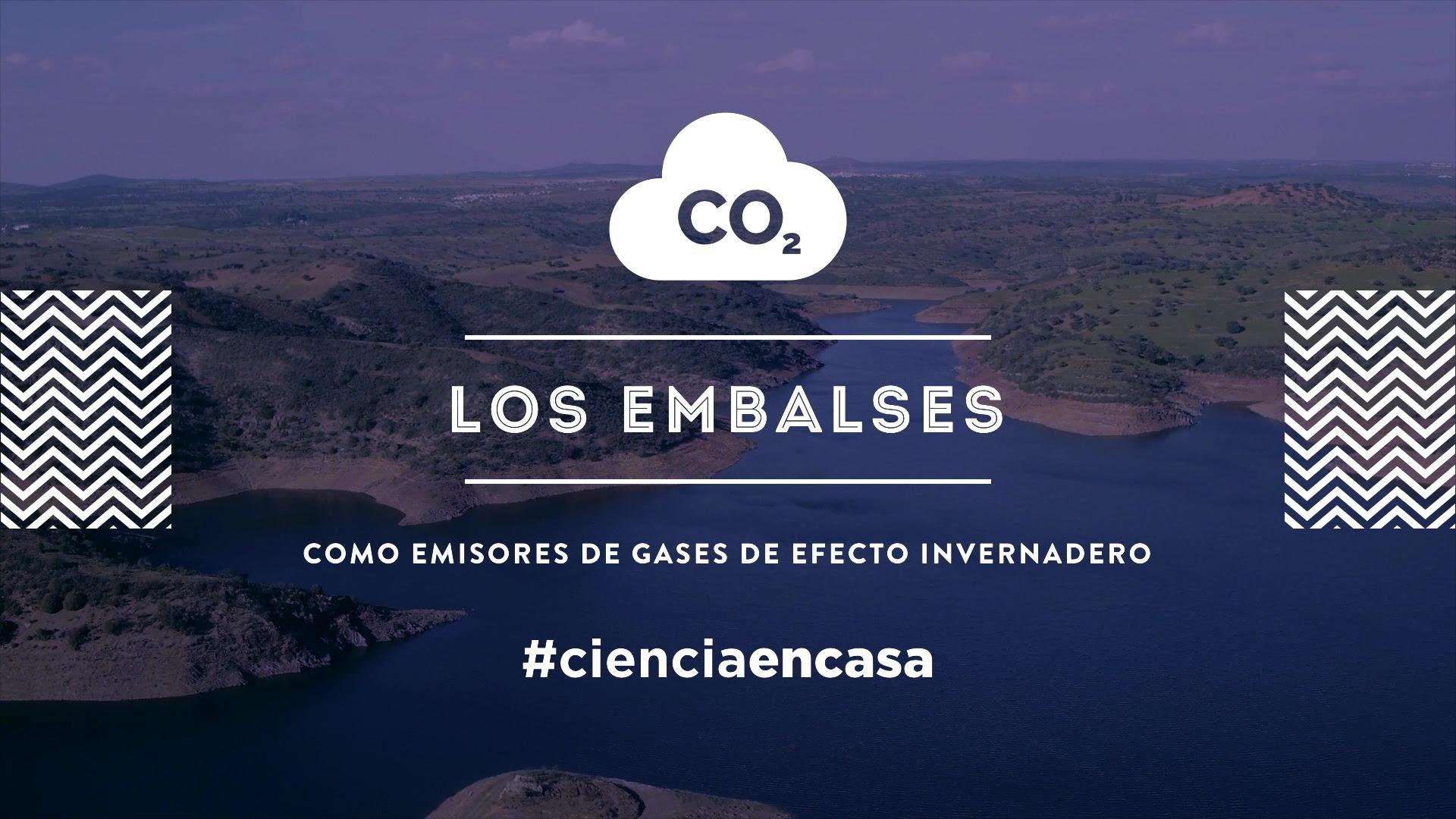 """#CienciaEnCasa: """"Los embalses como emisores de gases de efecto invernadero"""", por Elizabeth León"""