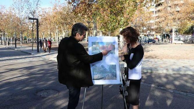 Podemos-IU celebra que el Ayuntamiento ejecute su proyecto de cinturón verde