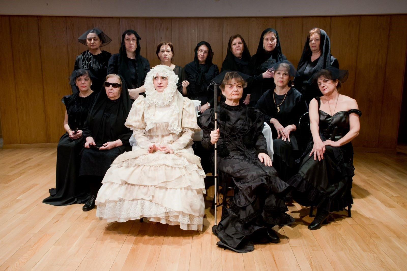 El grupo de teatro de la Once de Granada, 'Jacaranda11', logra el premio ARS Mediterránea por su Bernarda