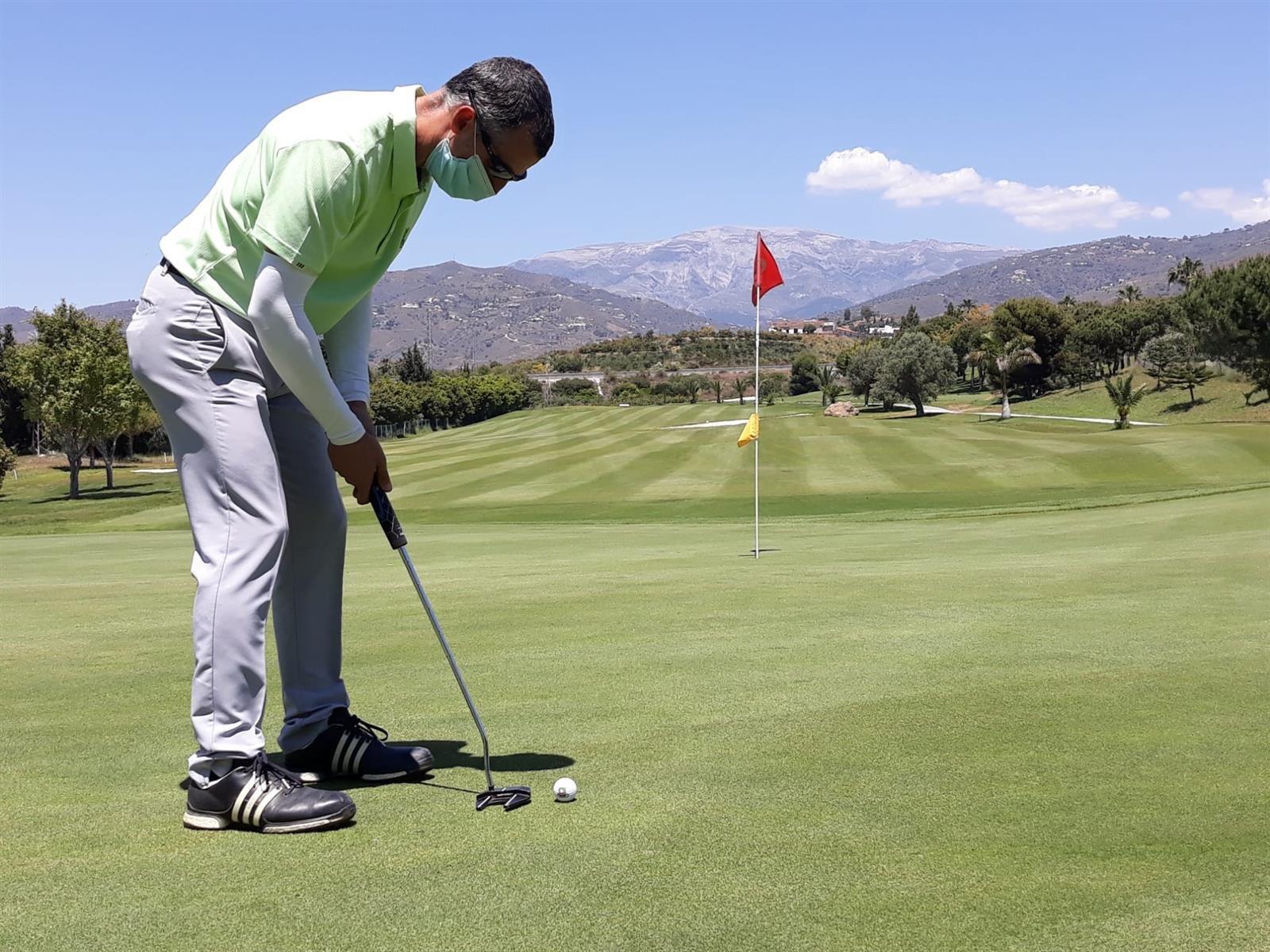 Los campos de golf de la provincia inician su desescalada
