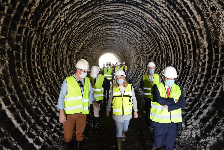 La obra de emergencia del Metro del arroyo Juncaril supera ya el 81% de su ejecución