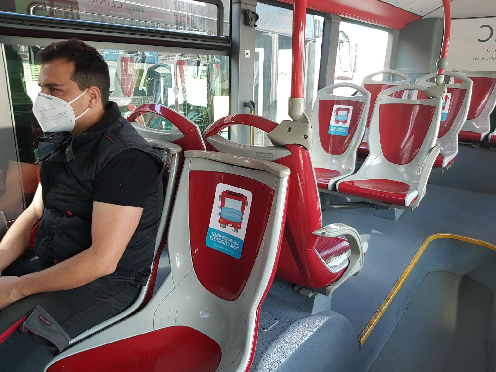 Autobuses de Rober incorpora medidas adicionales para garantizar la seguridad de los usuarios