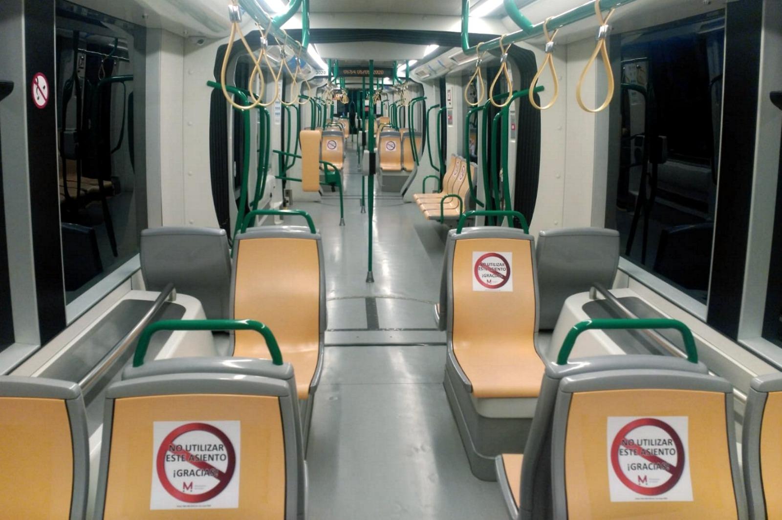 El metro recuperará la frecuencia de paso anterior a la crisis el lunes 11 de mayo