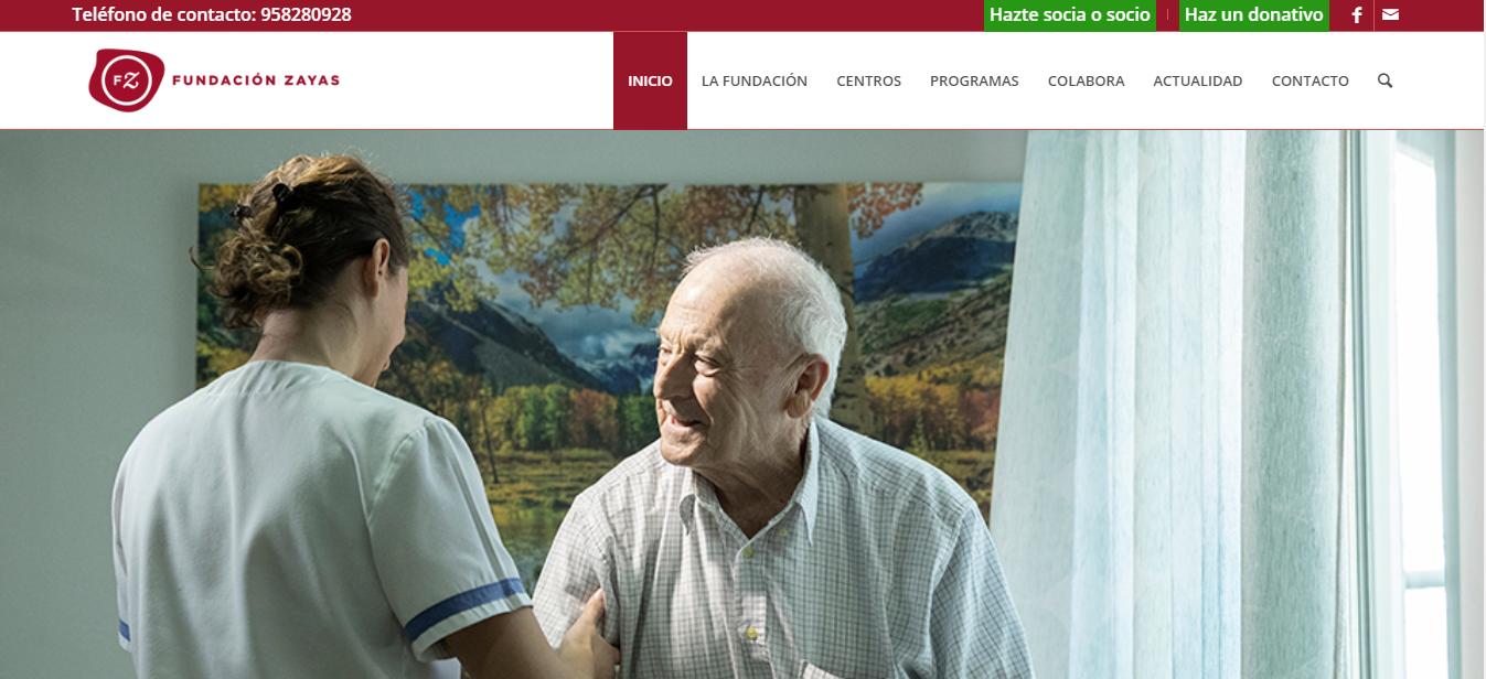 La Fundación Zayas renueva su página web