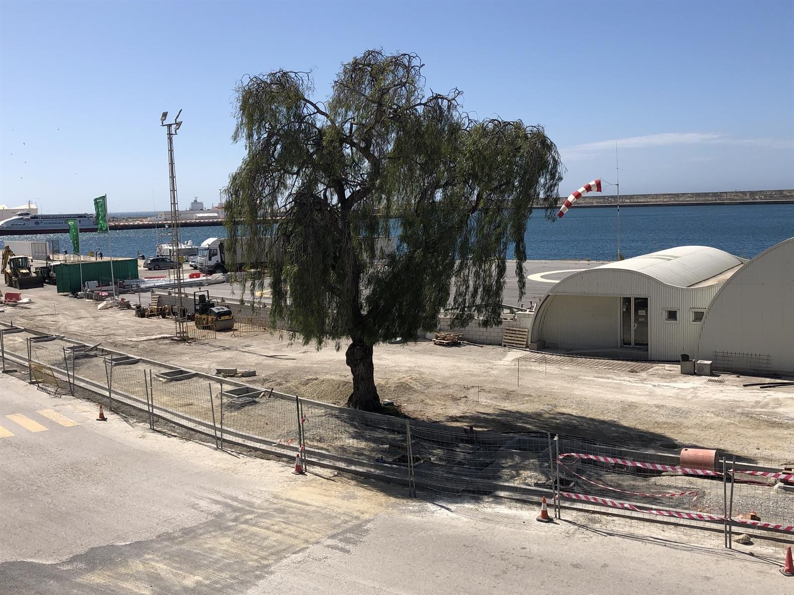 El puerto espera concluir este mes las obras para mejorar la accesibilidad de pasajeros y vehículos